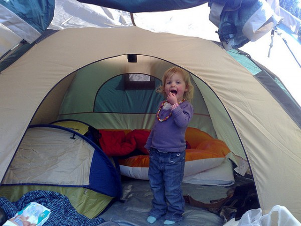 In the tent, ©jaygooby/Flickr